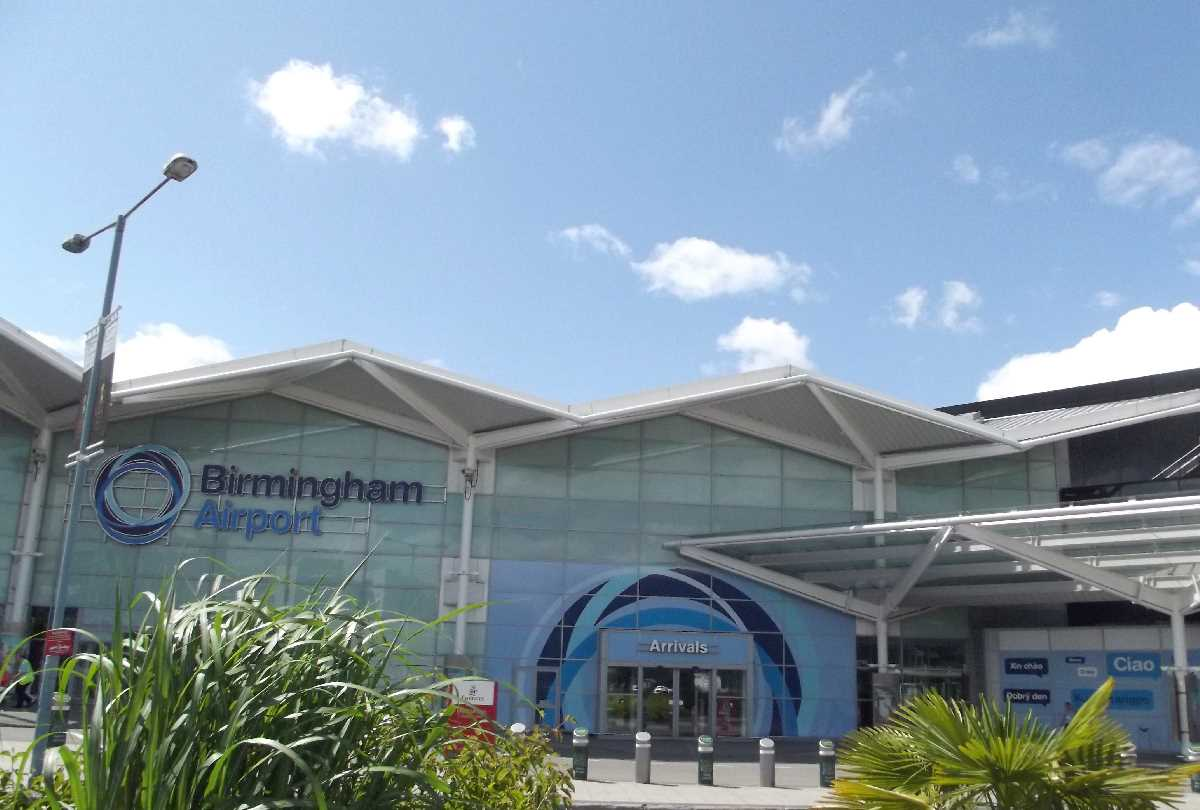 The comings & goings at Birmingham Airport
