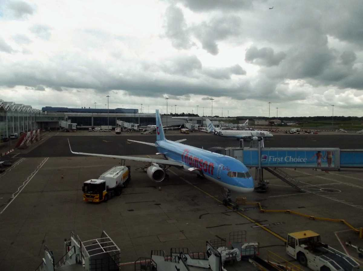 From Thomson to TUI Airways at Birmingham Airport